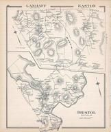 Landaff, Easton, Bristol, New Hampshire State Atlas 1892 Uncolored